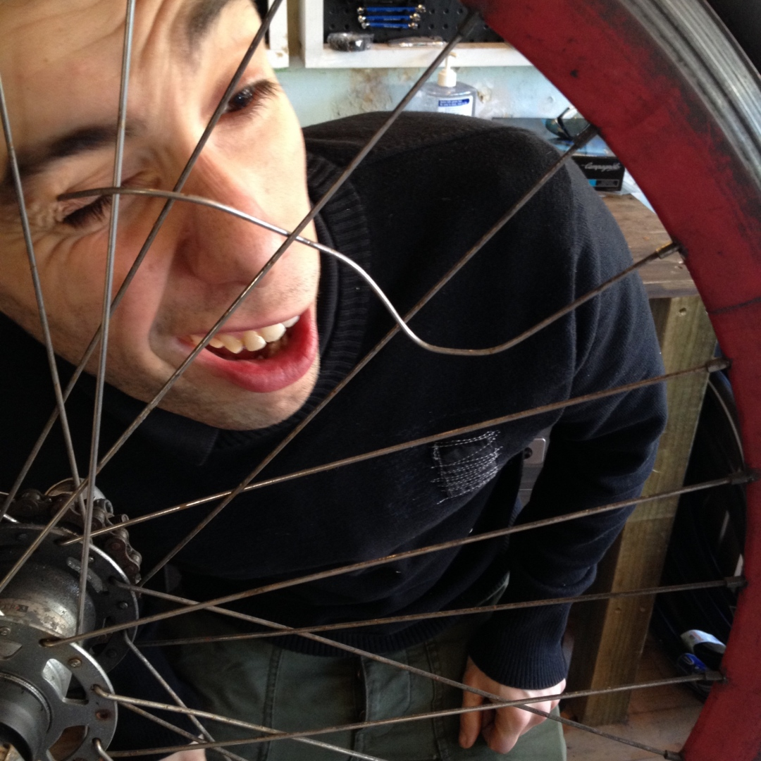 BROKEN SPOKES FIXED AT CHAINSMITH SYDNEY BIKE SHOP